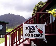 Slack Key Concert Sign