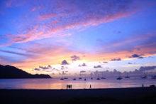 A Hanalei Slack Key Sunset