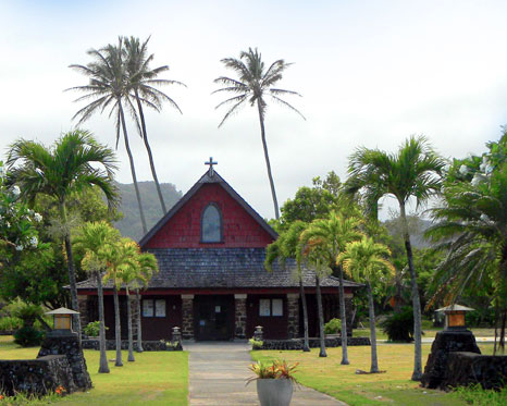 Slack Key at All Saints' Church Kapaa