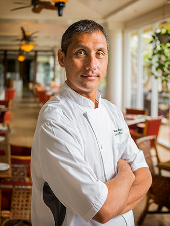 Rodman Machado, executive chef at Aqua Kauai Beach Resort. Daniel Lane photo.