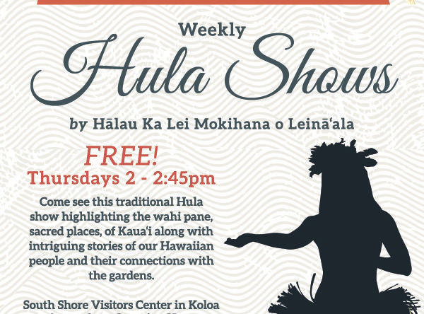 NTBG Hula Shows
