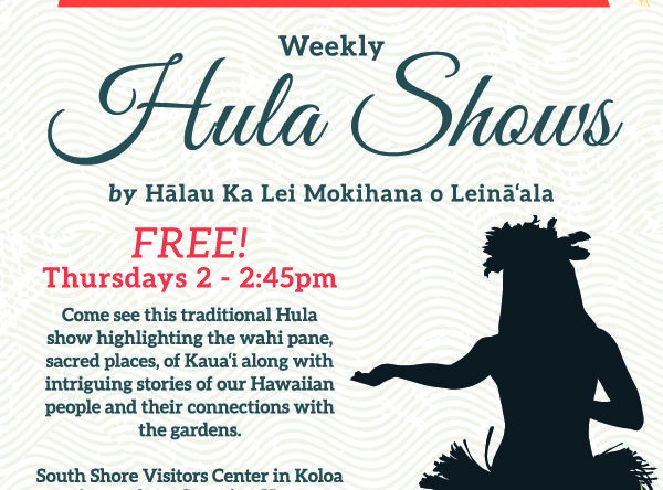 Ntbg weekly hula show kauai festivals events event navigation reheart Image collections