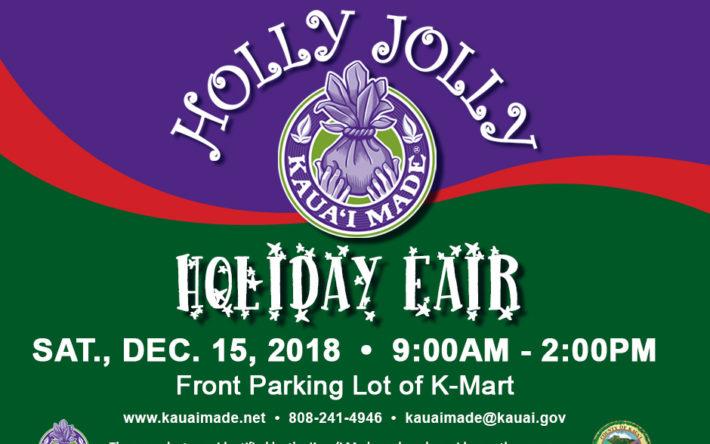 Kauai Made Holly Jolly Holiday Fair Kauai Festivals Events